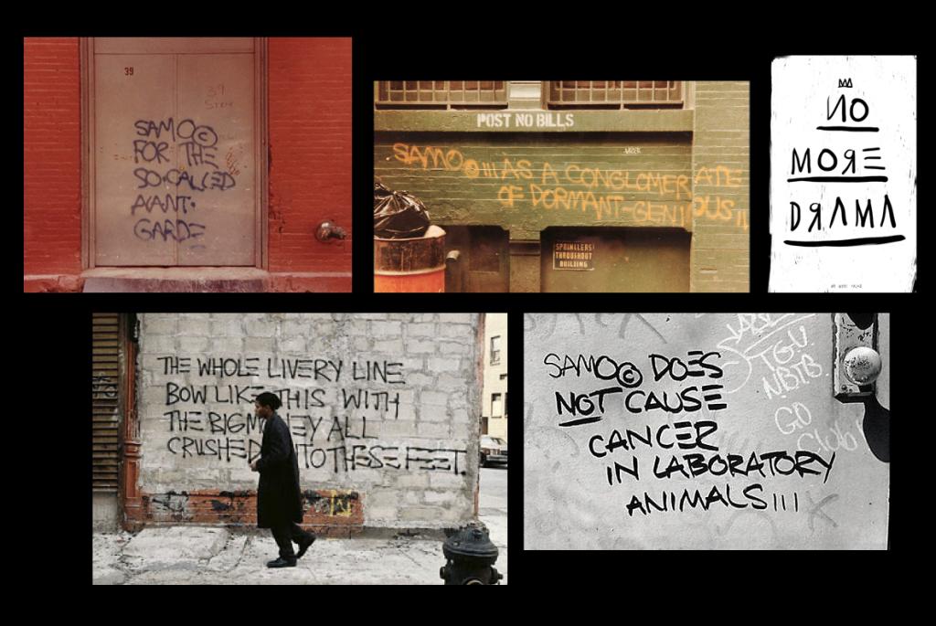 samo basquiat font typeface
